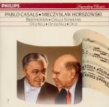 BEETHOVEN - Casals - Sonate pour violoncelle et piano n°2 op.5 n°2