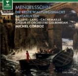 MENDELSSOHN-BARTHOLDY - Corboz - Die erste Walpurgisnacht (La nuit de Wa