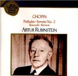 CHOPIN - Rubinstein - Vingt-quatre préludes pour piano op.28