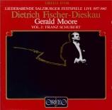 Liederabende Salzburger Festspiele Vol.1