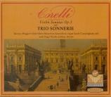 CORELLI - Trio Sonnerie - Sonate pour violon op.5 n°12 'La folia'