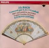 BACH - Leppard - Concerto pour deux clavecins et cordes en do majeur BWV