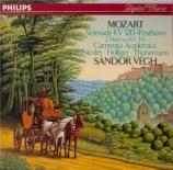 MOZART - Vegh - Sérénade n°9, pour orchestre en ré majeur K.320 'Posthor