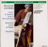 COUPERIN - Boulay - Trois leçons de ténèbres pour le mercredi saint