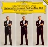 BACH - Weissenberg - Partita pour clavier n°6 en mi mineur BWV.830