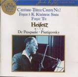 CASTELNUOVO-TEDESCO - Heifetz - Concerto pour violon n°2 op.66 'Les prop