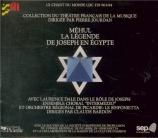 MEHUL - Bardon - Joseph en Egypte