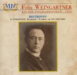 BEETHOVEN - Weingartner - Symphonie n°9 op.125 'Ode à la joie'