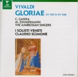 VIVALDI - Scimone - Gloria en ré majeur, pour deux sopranos, alto, chœur