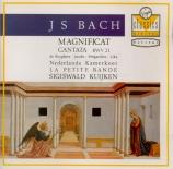 BACH - Kuijken - Magnificat en ré majeur, pour solistes, choeur et orches