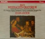 BACH - Jochum - Oratorio de Noël(Weihnachts-Oratorium), pour solistes
