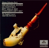 BACH - Pinnock - Suite pour orchestre n°1 en do majeur BWV.1066