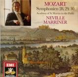 MOZART - Marriner - Symphonie n°28 en do majeur K.200 (K6.189k)