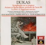DUKAS - Martinon - Symphonie en ut majeur