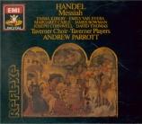 HAENDEL - Parrott - Messiah (Le Messie), oratorio HWV.56