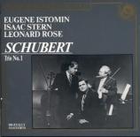 SCHUBERT - Rose - Trio avec piano n°1 en si bémol majeur op.99 D.898
