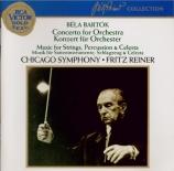 BARTOK - Reiner - Concerto pour orchestre Sz.116 BB.123