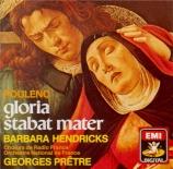 POULENC - Prêtre - Gloria, pour soprano, chœur mixte et orchestre en sol