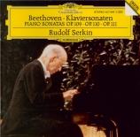 BEETHOVEN - Serkin - Sonate pour piano n°30 op.109