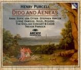 PURCELL - Pinnock - Dido and Aeneas (Didon et Énée), opéra Z.626