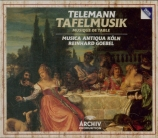TELEMANN - Goebel - Ouverture pour trompette et hautbois, cordes et bass