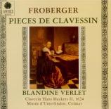 FROBERGER - Verlet - Pièces pour le clavier