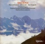 BRUCKNER - Best - Aequalis n°1 WAB 114