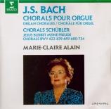 BACH - Alain - Préludes de chorals II - Schübler BWV 645-650