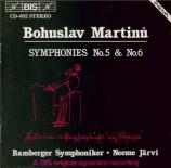 MARTINU - Järvi - Symphonie n°5 H.310