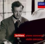 BRITTEN - Lubotsky - Concerto pour piano op.13