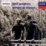 BRITTEN - Britten - Sinfonia da requiem, pour orchestre op.20