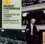 HAYDN - Furtwängler - Symphonie n°104 en si bémol majeur Hob.I:104 'Lond