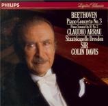 BEETHOVEN - Arrau - Concerto pour piano n°3 en ut mineur op.37