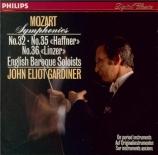 MOZART - Gardiner - Symphonie n°32 en sol majeur K.318