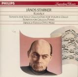 KODALY - Starker - Sonate pour violoncelle seul op.8