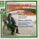 SIBELIUS - Amoyal - Concerto pour violon et orchestre op.47
