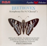 BEETHOVEN - Reiner - Symphonie n°9 op.125 'Ode à la joie'