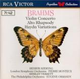 BRAHMS - Szeryng - Concerto pour violon et orchestre en ré majeur op.77