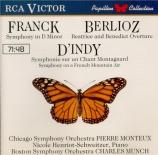INDY - Munch - Symphonie sur un chant montagnard français op.25