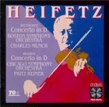 BEETHOVEN - Heifetz - Concerto pour violon en ré majeur op.61