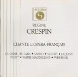 Régine Crespin chante l'opéra Français