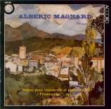 MAGNARD - Demenga - Sonate pour violoncelle et piano op.20