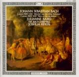 BACH - Rifkin - Weichet nur, betrübte Schatten, cantate pour soprano et