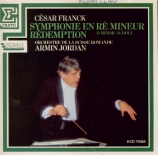 FRANCK - Jordan - Symphonie pour orchestre enrémineur FWV.48