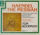 HAENDEL - Koopman - Messiah (Le Messie), oratorio HWV.56