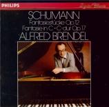 SCHUMANN - Brendel - Fantasiestücke, huit pièces de fantaisie pour piano