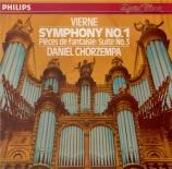 VIERNE - Chorzempa - Symphonie pour orgue n°1 en ré mineur op.14