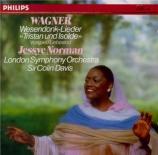 WAGNER - Norman - Wesendonck-Lieder, pour voix et piano WWV.91a
