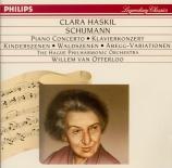 SCHUMANN - Haskil - Concerto pour piano et orchestre en la mineur op.54