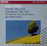 BIZET - Markevitch - Carmen : suites n°1 & 2